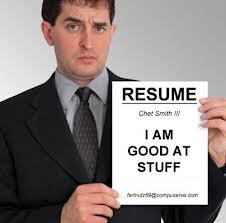 resume humor