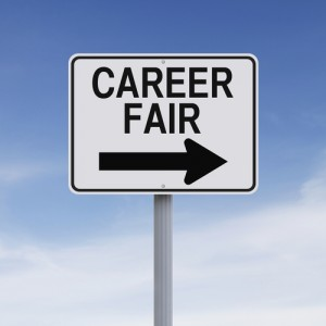 CAREER FAIR SIGN